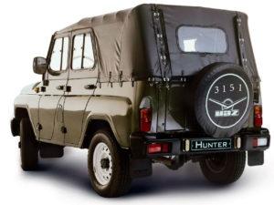 военный уаз 3151