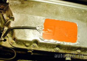 пластины подогрев двигателя