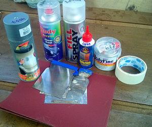 как покрасить бампер своими руками