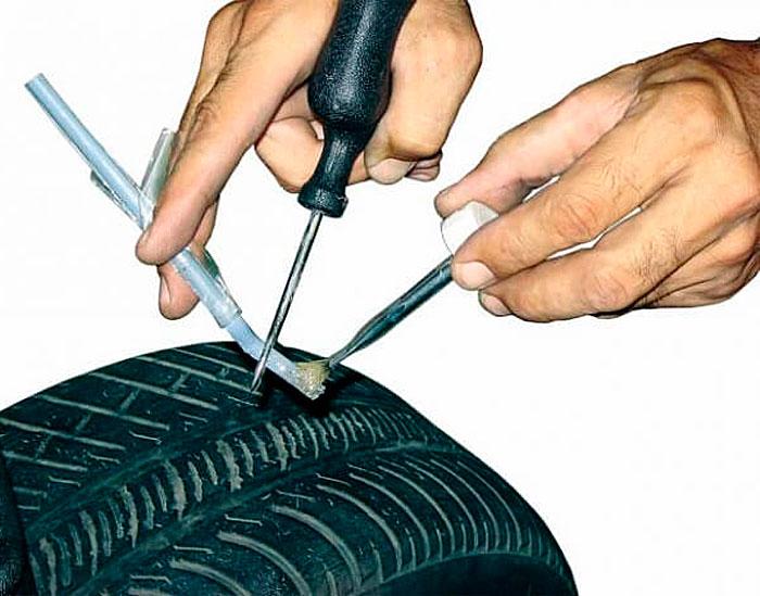 герметик для бескамерных шин