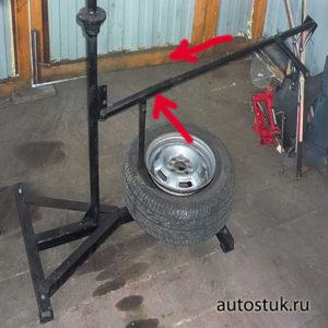 станок для ремонта шин