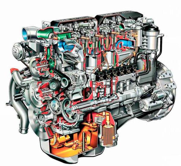 устройство системы дизельного двигателя