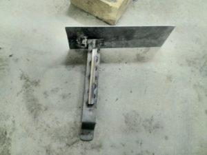 металлический подлокотник