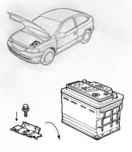 как правильно снять автомобльный аккумулятор