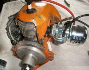 двигатель для картинга от бензопилы