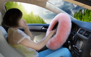 меховая оплетка на руль