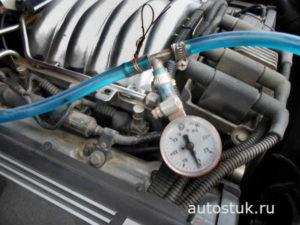 проверка регулятора давления топлива