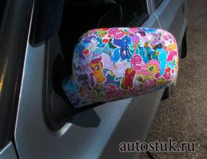 стикер для авто
