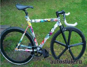 стикеры для велосипеда
