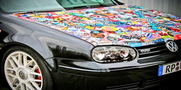 стикеры для авто