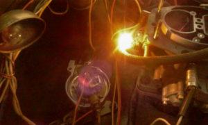 установка зажигания лампочкой
