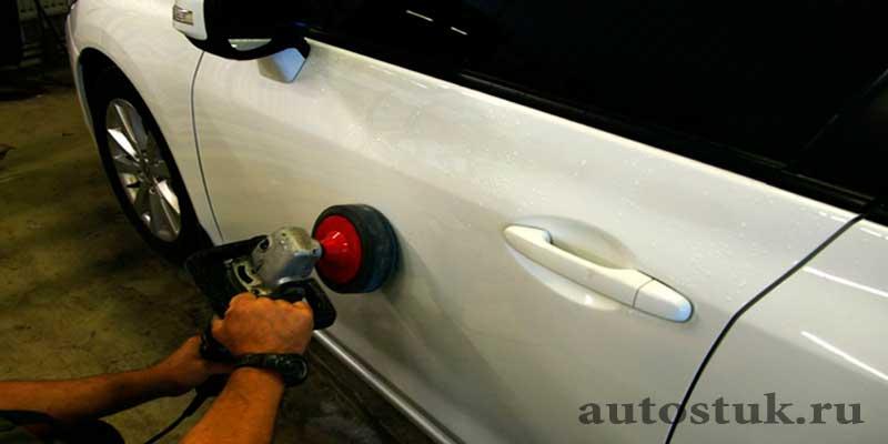 Как и чем удалить маленькую царапину на автомобиле