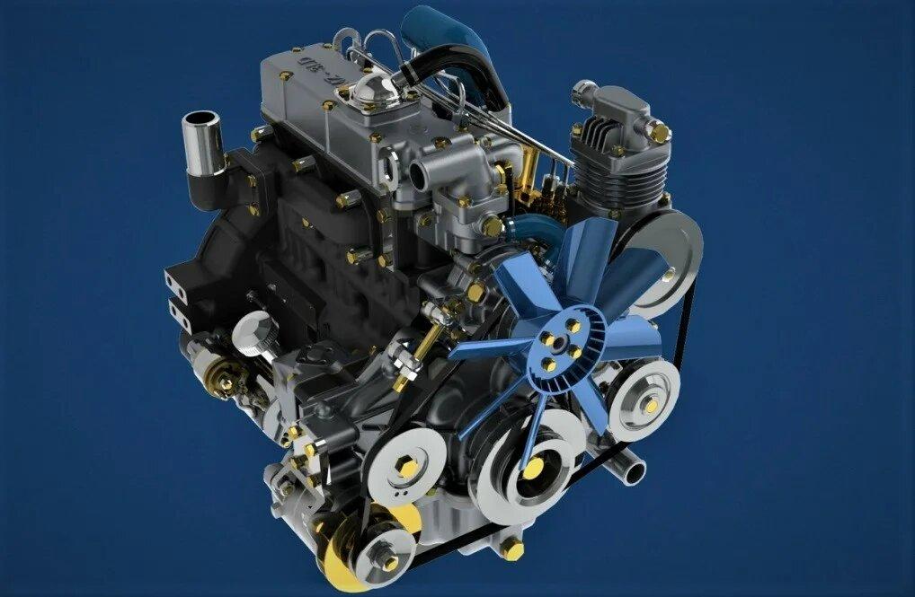 Самый маленький дизельный двигатель для автомобиля